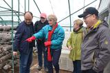 美国农业专家考察 渑池现代农业